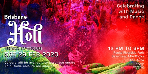 Brisbane Holi: Festival of Colours 2020