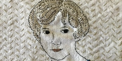 Embroidered and Appliquéd Portraits