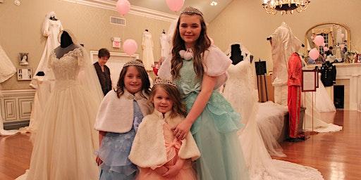 Princess Night in the Wedding Dress Exhibit