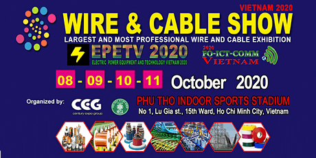 Wire and Cable Show Vietnam 2020 tickets