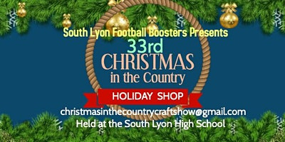 33rd Christmas in the Country Holiday Shop
