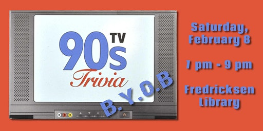Trivia After Hours – 90s TV Challenge! (B.Y.O.B.)