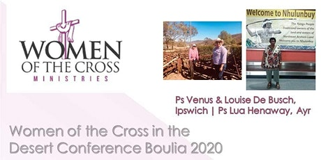 Women of the Cross in the Desert Conference Boulia 2020 tickets