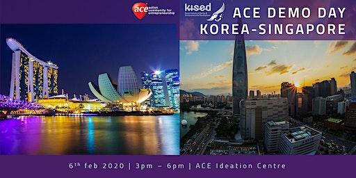 ACE Demo Day: Korea-Singapore