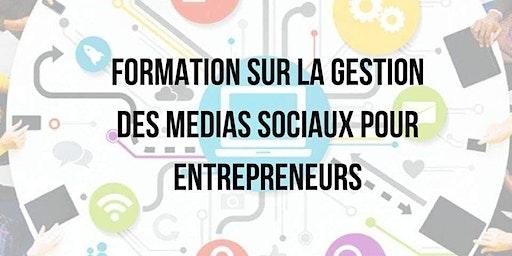 Gestion médias sociaux pour entrepreneurs