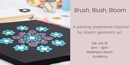 Brush, Blush, Bloom