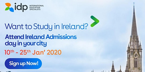 Attend Ireland Admission day in Coimbatore