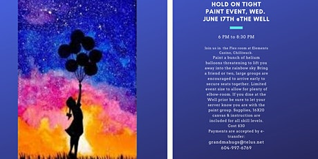 Hold On Tight Paint Night Event tickets