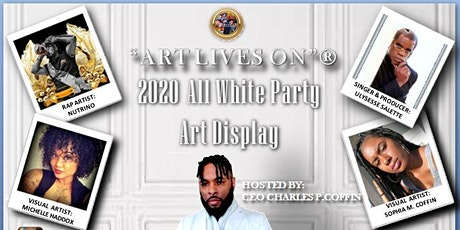 """""""ART LIVES ON"""" 2020 ALL WHITE ART SHOW tickets"""