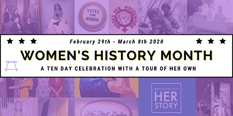 Kickoff to Women's History Month tickets