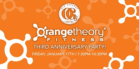 Orange Theory 3rd Anniversary Party tickets