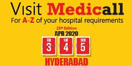 Medicall  India's largest and No.1,B2B Medical Equipment Expo tickets