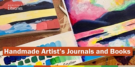Handmade Artist's Journals and Books - Redcliffe Library tickets