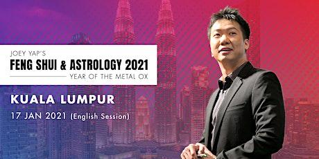 Joey Yap's Feng Shui & Astrology 2021 (Kuala Lumpur) - English Session tickets