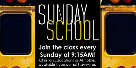 Reaching To Teach: Sunday School (Sundays at 9:15AM) tickets