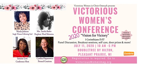 """Victorious Women's Conference 2020 """"Vision for Victory"""""""