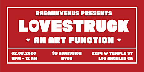 LOVESTRUCK: An Art Function tickets