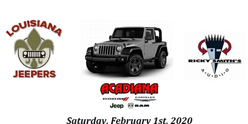 Louisiana Jeepers RSD/CRPS Jeep Show 2020