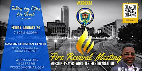 Fire Revival Meeting Q1: 2020 tickets