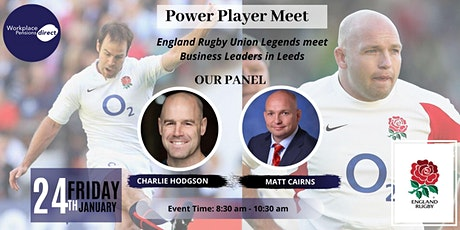 England Rugby Union Team Players Meet Leeds Business Leaders. tickets