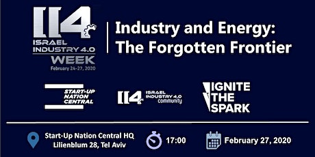 Industry and Energy: The Forgotten Frontier tickets