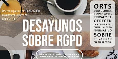 DESAYUNOS RGPD tickets