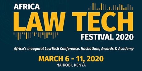 AFRICA LAW TECH FESTIVAL 2020 (Conference, Global Legal Hackathon & Academy tickets