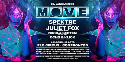 MOVE with Spektre, Juliet Fox, Nicola Septem, Ochs & Klick