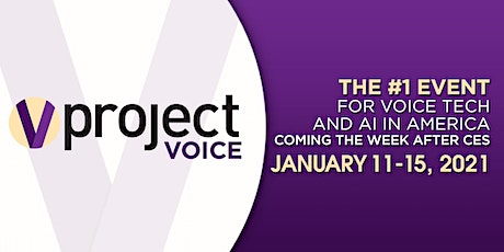 Project Voice 2021 - the #1 event for voice tech and AI in America tickets