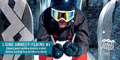 Ligne Annecy - Flaine #1 tickets