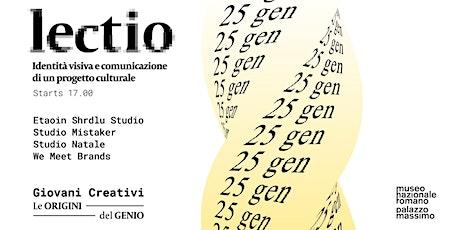 LECTIO - Identità visiva e comunicazione di un progetto culturale biglietti