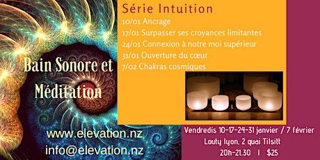 Bain Sonore et Méditation: Série Intuition tickets
