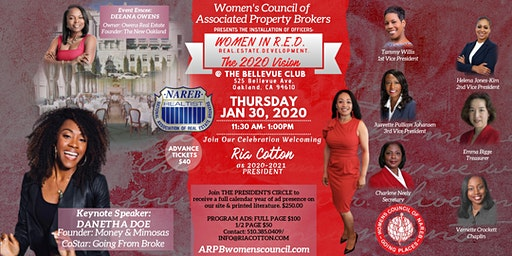2020 Installation of Officers - Women in R.E.D. The 2020 Vision