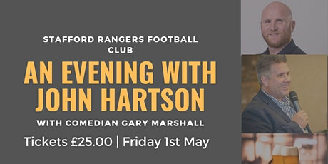 An Evening with John Hartson tickets