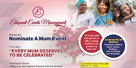 Nominate-A-Mum Event tickets