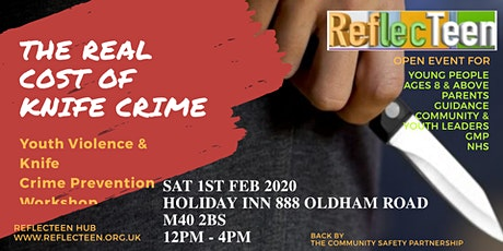 Youth Violence and Knife Crime Prevention Workshop tickets