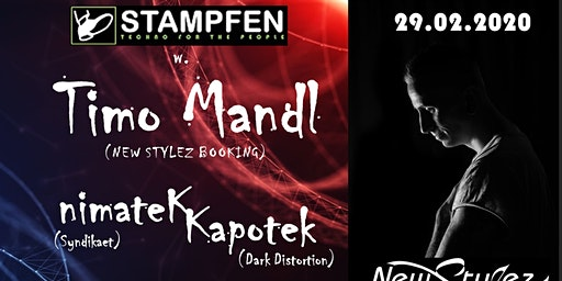 Stampfen  w. Timo Mandl (New Stylez Booking)