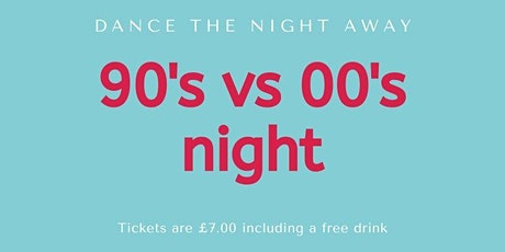 90's vs 00's night tickets
