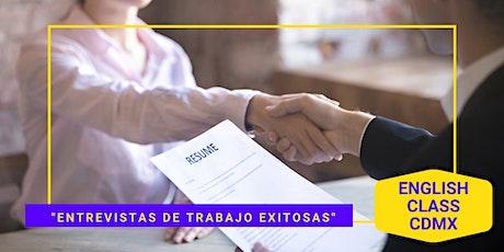 """Mini Curso """"Entrevistas de Trabajo Exitosas"""" Gratis entradas"""