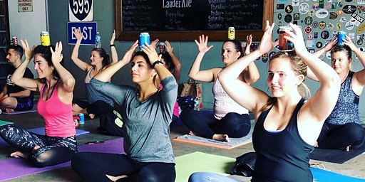 Ales & Asanas Yoga at LauderAle Brewery 1/26