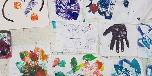 Workshop for kids- Printmaking using unusual and natural objects