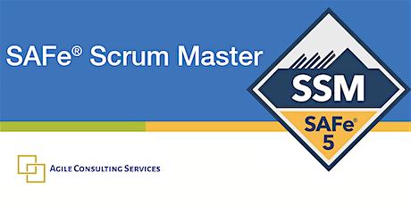 SAFe 5 Scrum Master (SSM) tickets