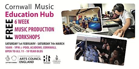 Cornwall Music Education Hub - Music Production Workshops tickets
