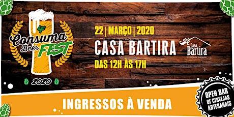 4º CONSUMABEER FEST - 2020 - Cerveja sem frescura! (1º LOTE) ingressos