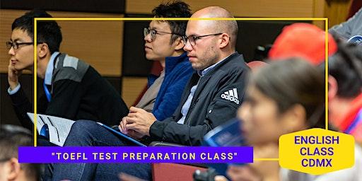 TOEFL Test Preparation Class Free