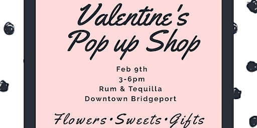 Valentines pop up shop