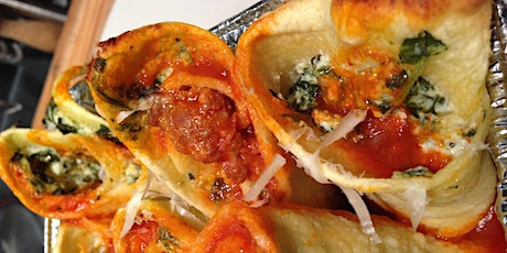 Home-made Paccheri with Spinach and Ricotta tickets
