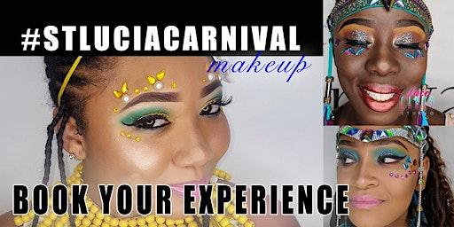 Hot Girl Makeup for St Lucia Carnival 2020