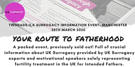 UK Surrogacy Information Event - Your Route to Fatherhood tickets