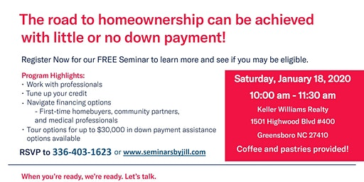 Triad's Original Home Buyer's Class!
